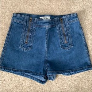 NWOT Free People High-Waisted Shorts